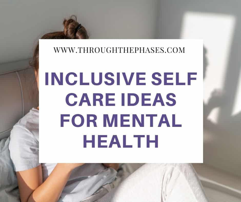 self care ideas for mental health