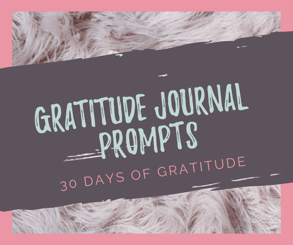An attitude of gratitude is the best attitude to have! But getting started with gratitude journalling can be hard. That's why I've created these daily gratitude journal prompts so you can start your own 30 day gratitude challenge!