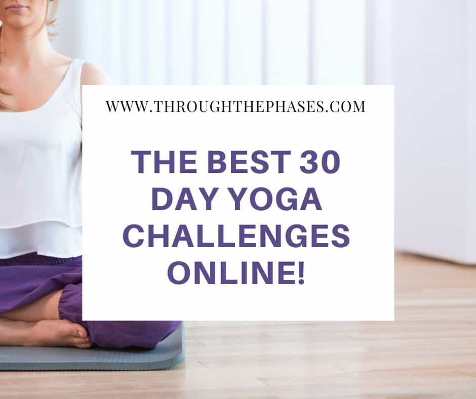 the best 30 day yoga challenges online