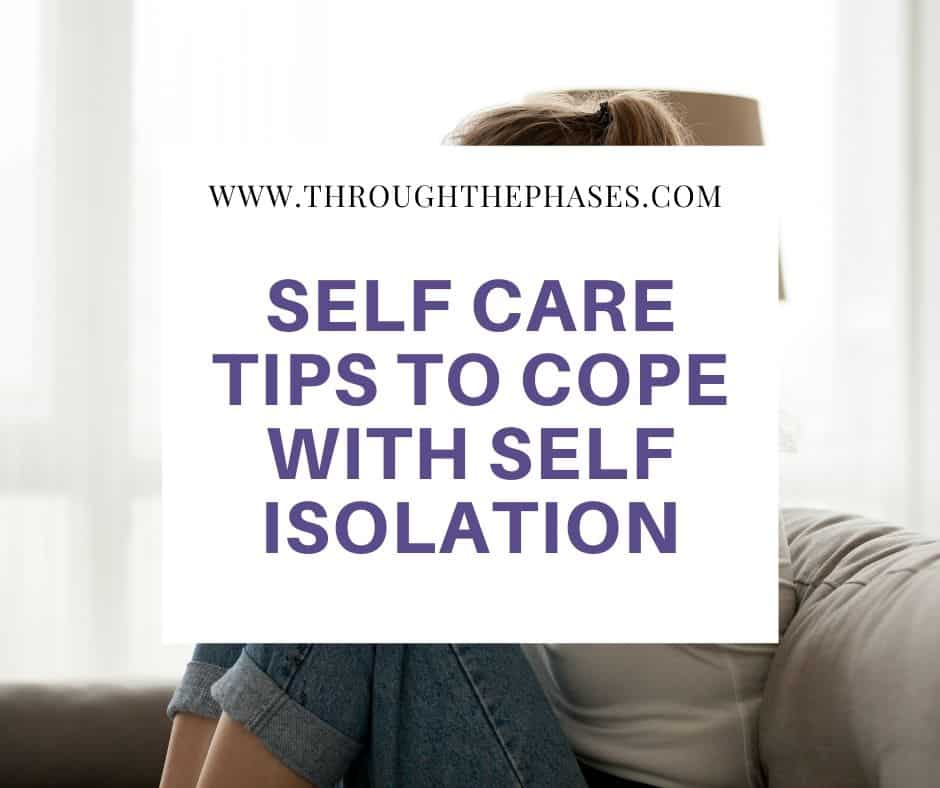 self care tips for dealing with self isolation