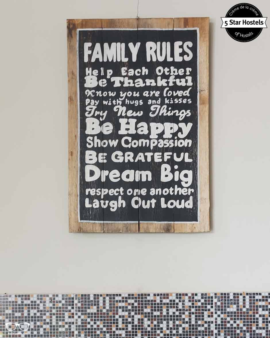 Hostel Rules and Family Rules