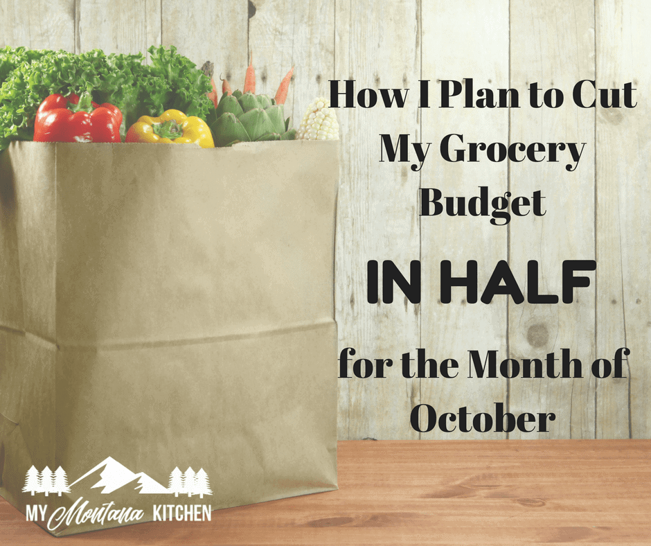 October Grocery Challenge (for Trim Healthy Mamas and Low Carb)