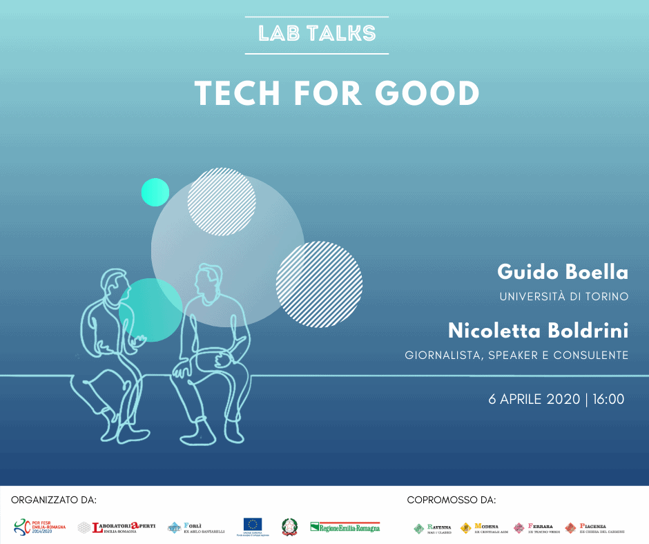 Tech for Good - Cover Lab Talks