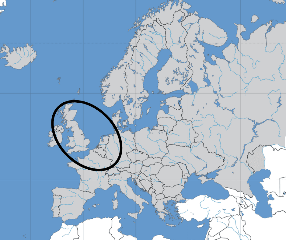 This is where you can find the England, Wales, and Northwestern Europe DNA ethnicity