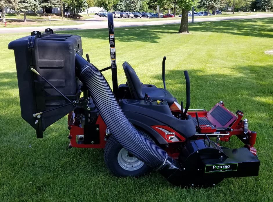 how lawn vacuums function