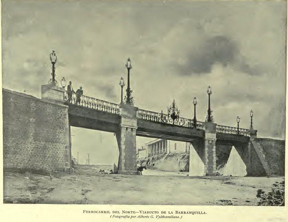 Puente de la Barranquilla en Ciudad de Guatemala