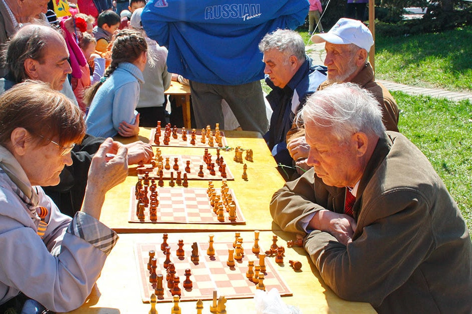 What's the deal with chess in Union Square?