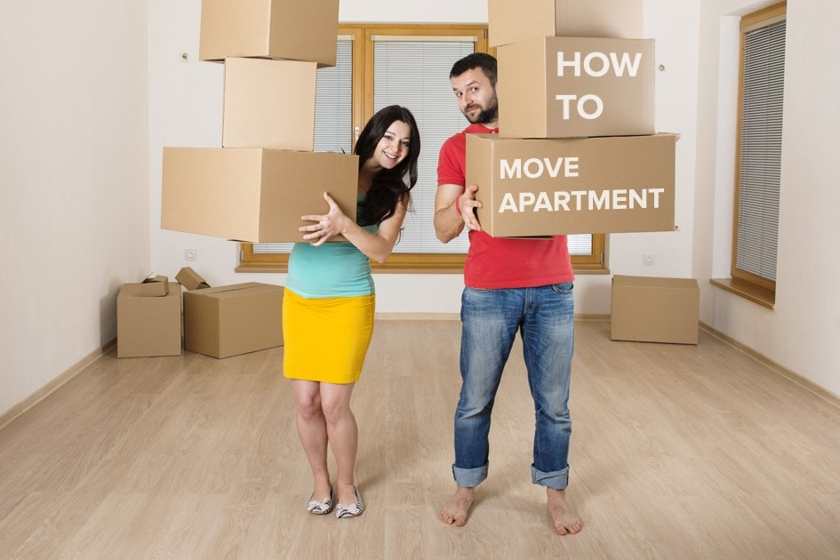 How to move apartment