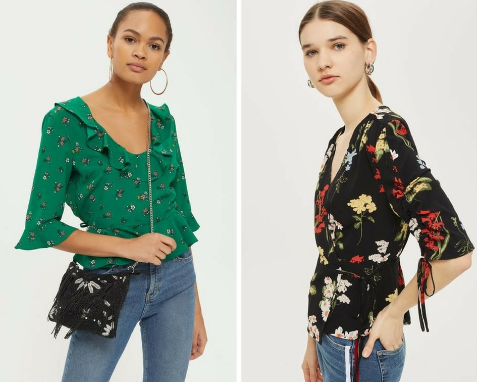 Chic topshop tops for women over 40 | 40plusstyle.com