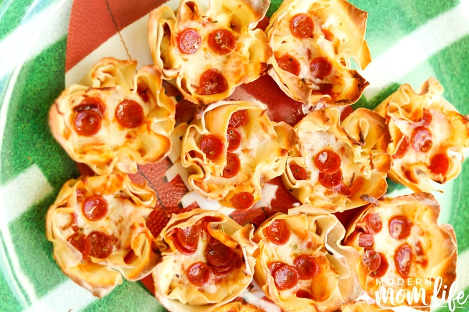 pepperoni pizza dip cups