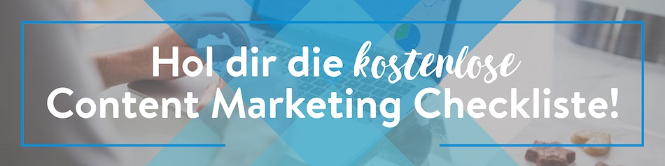 Content Marketing SEO Checkliste