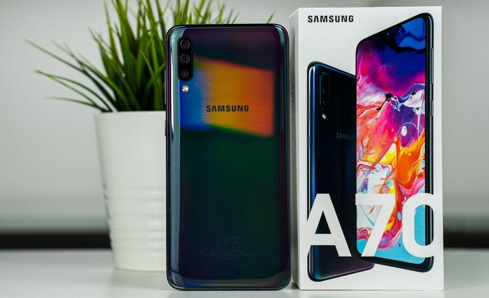 Samsung Galaxy A70 Black Screen of Death