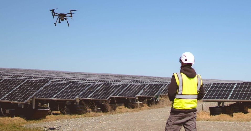 Queensland Drones is a leader in solar farm inspection using drones