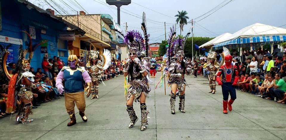 Danzas autóctonas en Santa Cruz del Quiché