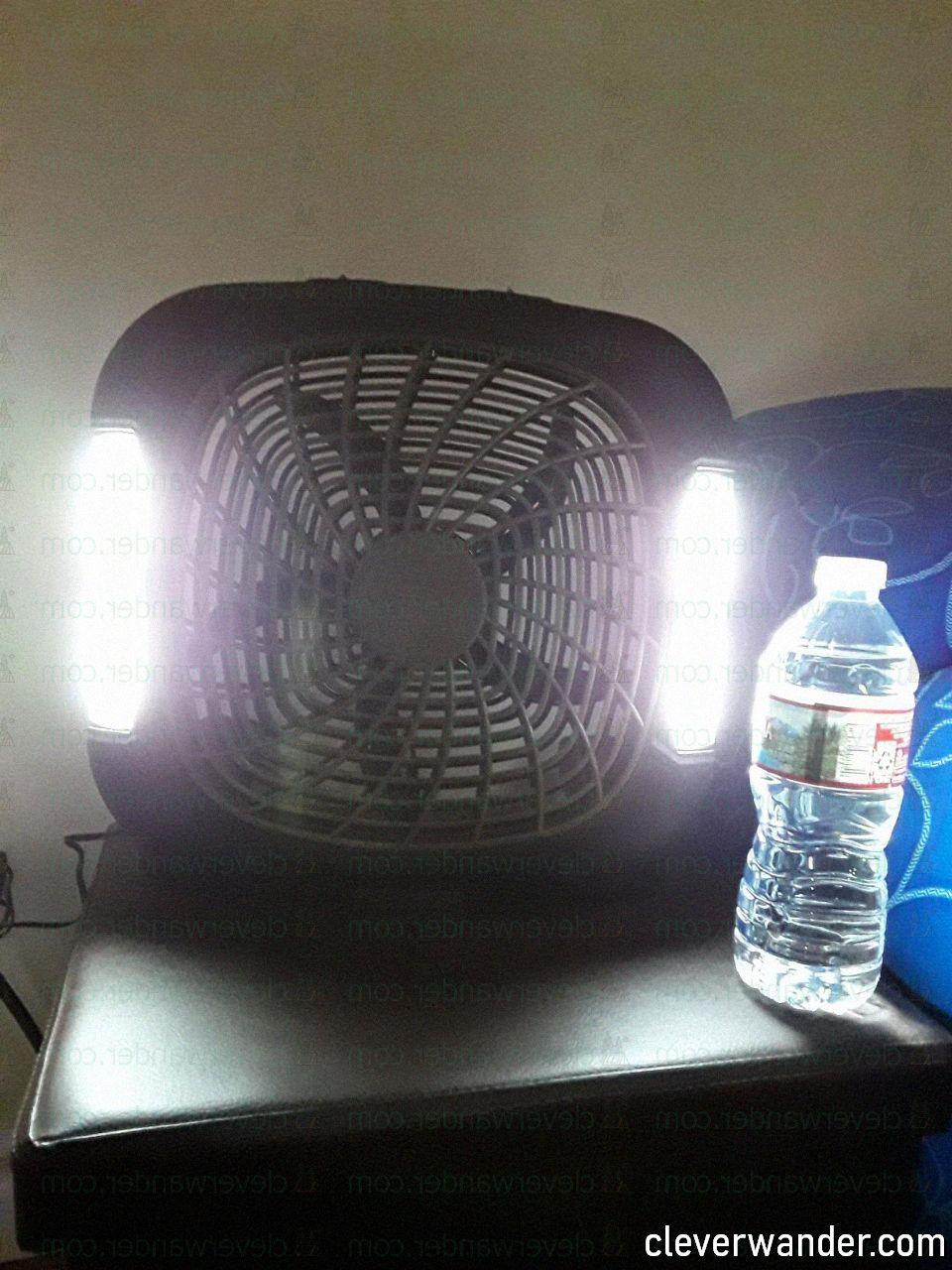 O2COOL Treva Speed Battery Powered Portable Fan - image review 4
