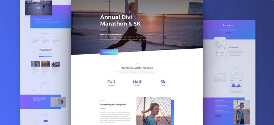 Página web para deportistas