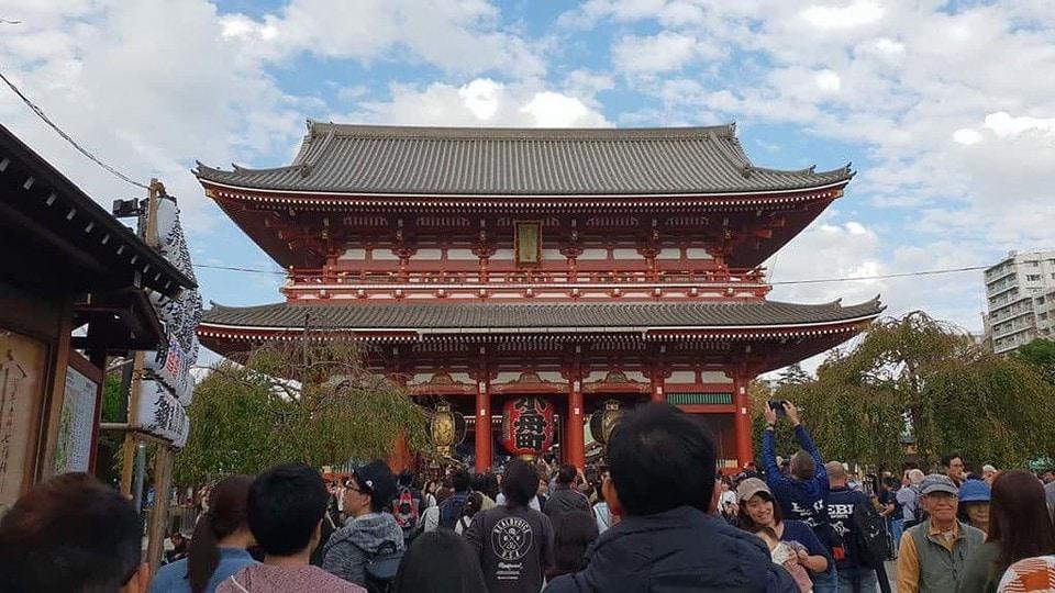 gerbang kuil sensoji