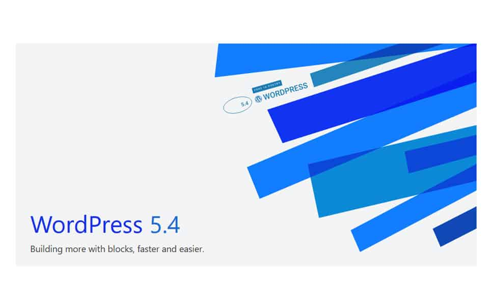 WordPress version 5.4 Adderley