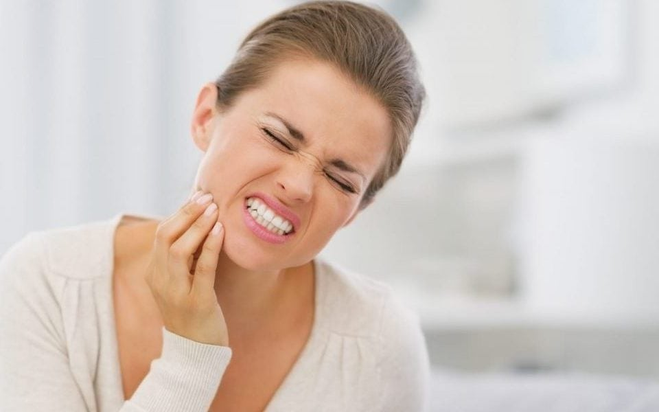 Sensitive Teeth in pain