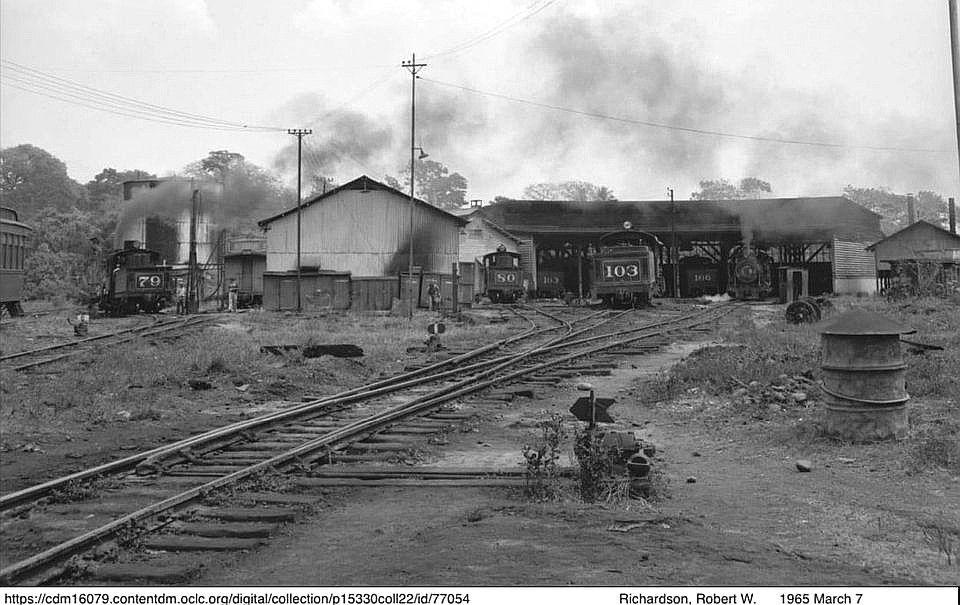 Estación de Mazatenango 1965