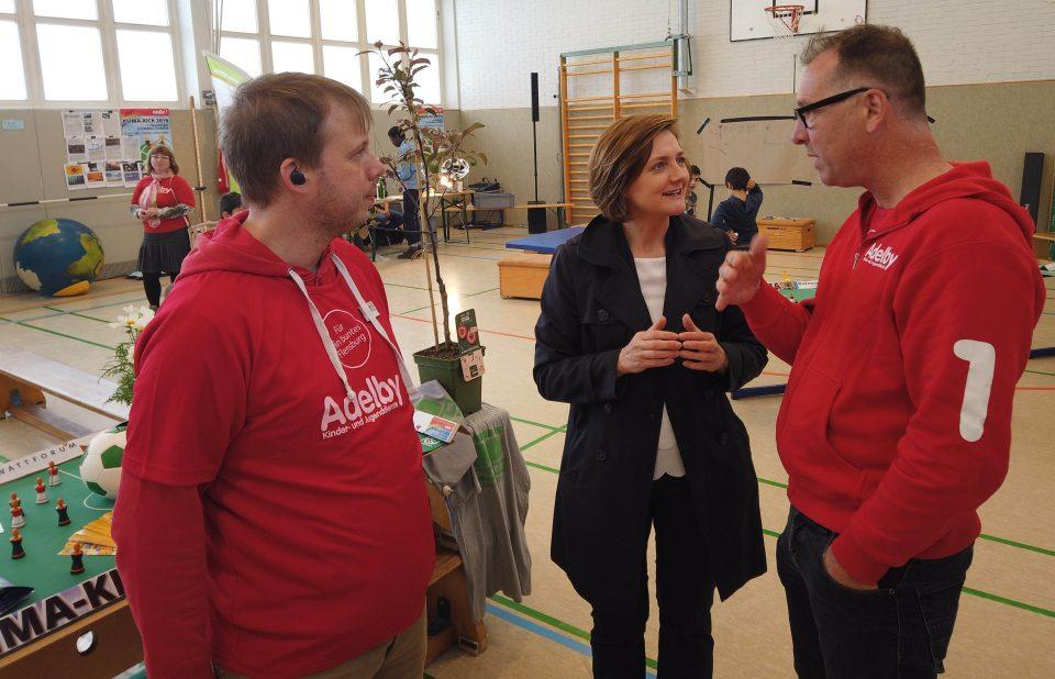 """Erfolgreicher """"Flensburger Klimakick"""" – Flickball spielen für ein besseres Klima!"""