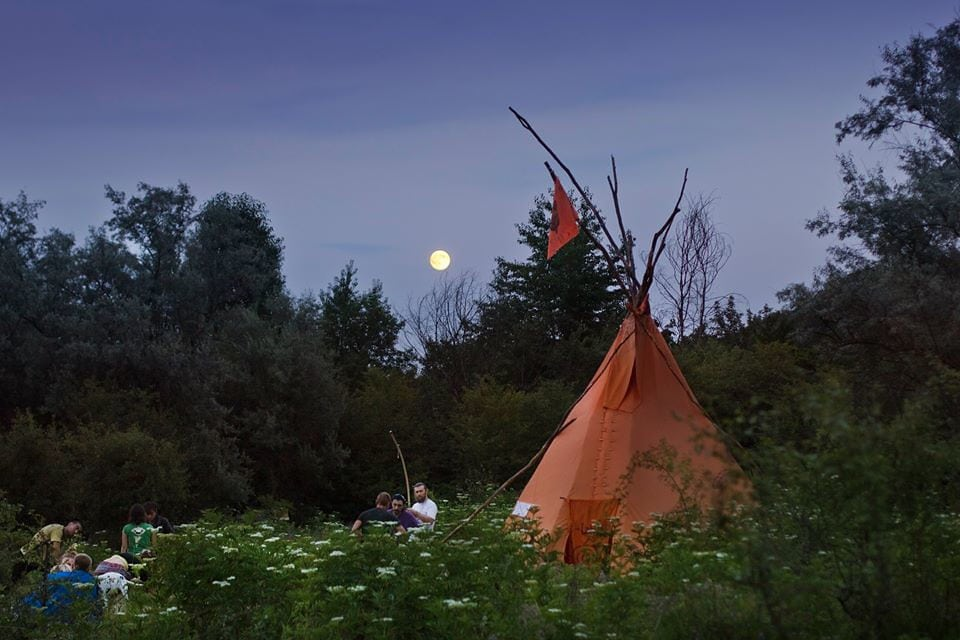 Camp by the Ormos Charity | flickr ccncnd2 licence
