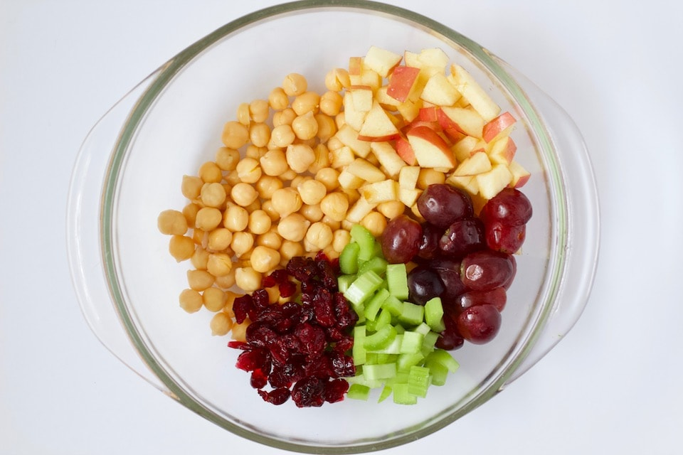Chickpea Waldorf Salad Recipe Ingredients