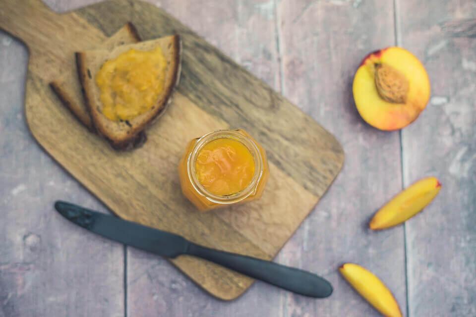 Nektarinen-Zitrus-Marmelade