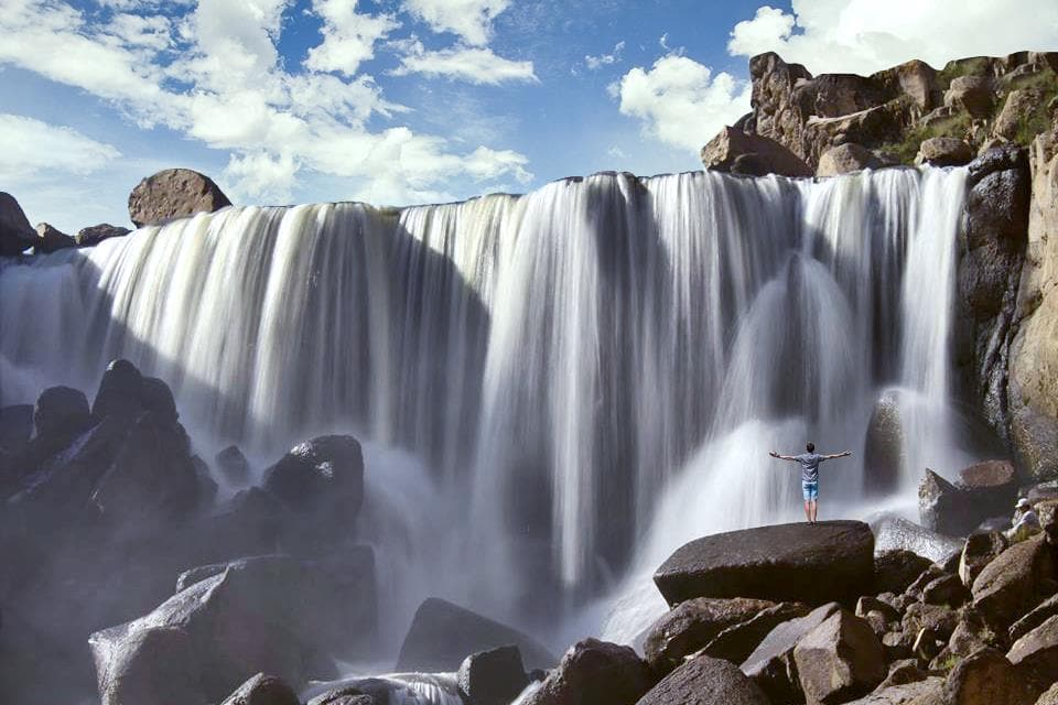 Catarata de Pillones - Arequipa- Cinco destinos increíbles para luna de miel en el sur del Perú