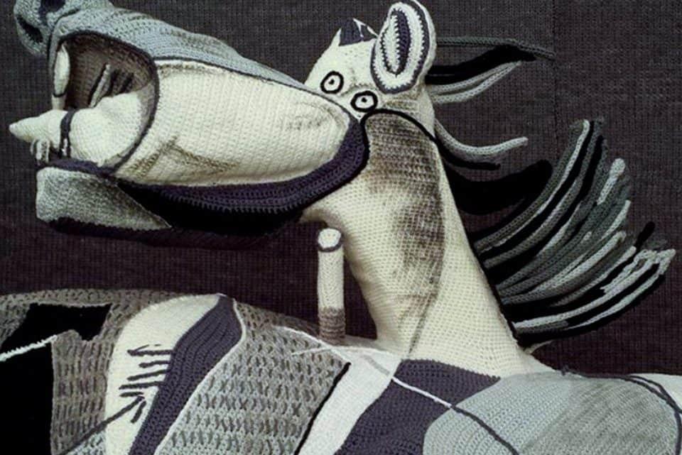 Picasso Guernica em 3D