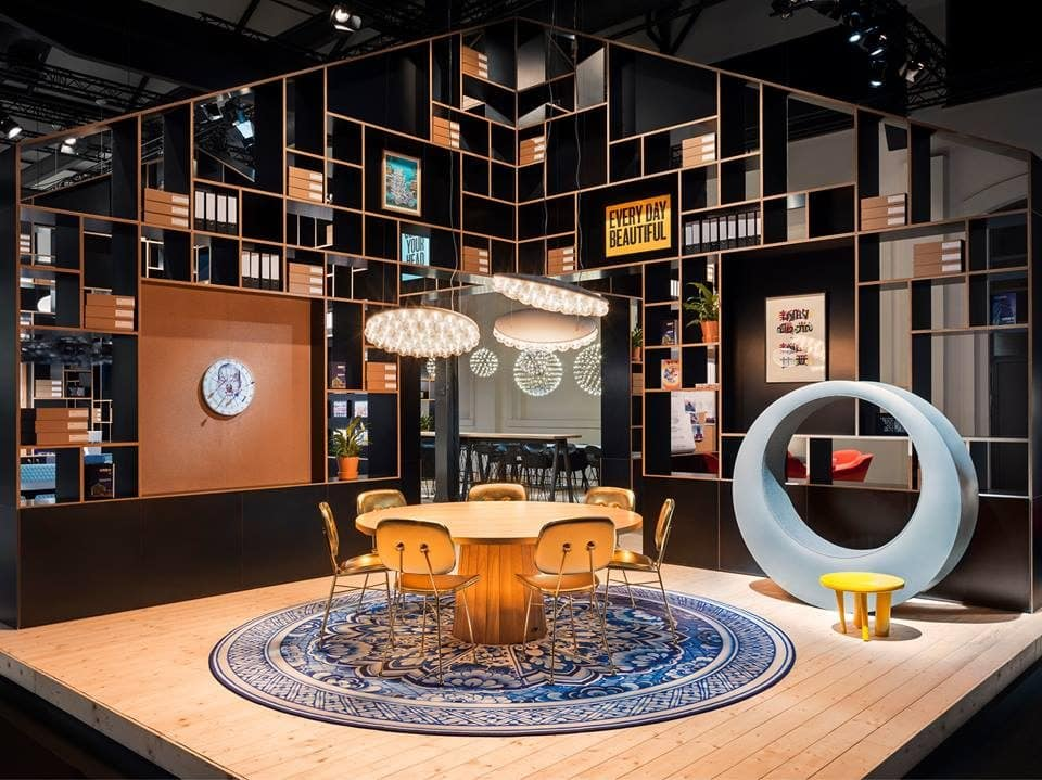 Moooi presentation on iSaloni 2018 Milano