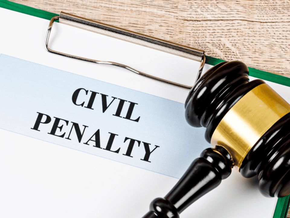 What is a civil penalty