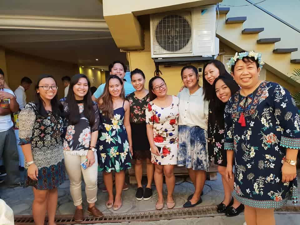 PRworks team, Doris birthday – public relations or PR