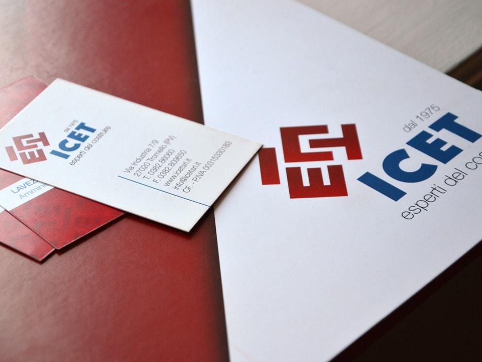 brochure impresa edile ICET Tromello