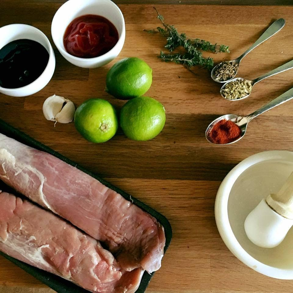 Pork Tenderloin Marinade - This marinade is perfect to give your pork tenderloin extra flavour. Its quick, easy and tastes incredible! Fennel, Cumin, Thyme, Paprika, Ketchup, Honey and Balsamic - http://www.amateurchef.co.uk