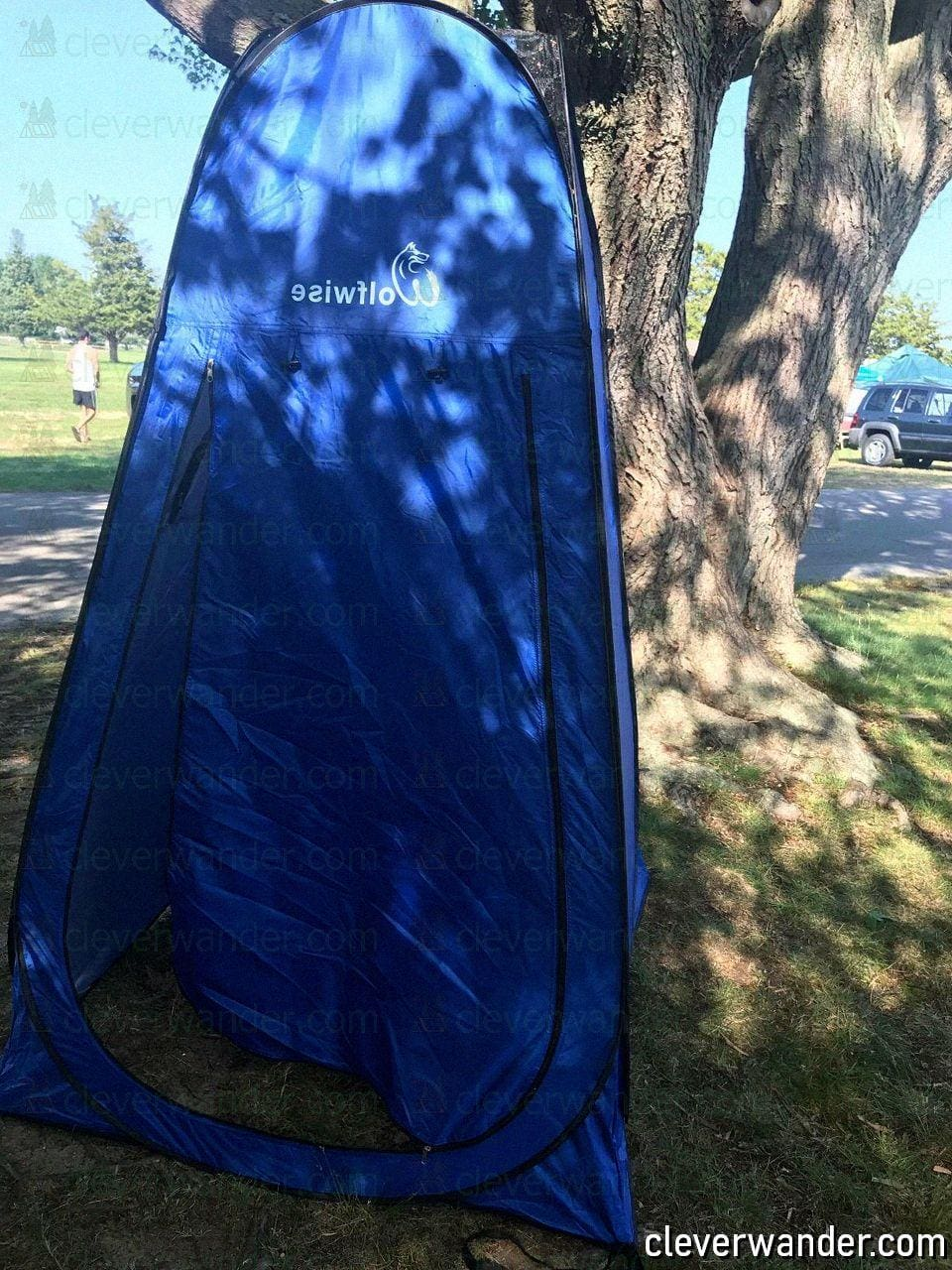 WolfWise Pop Up Privacy Shower Tent - image review 1