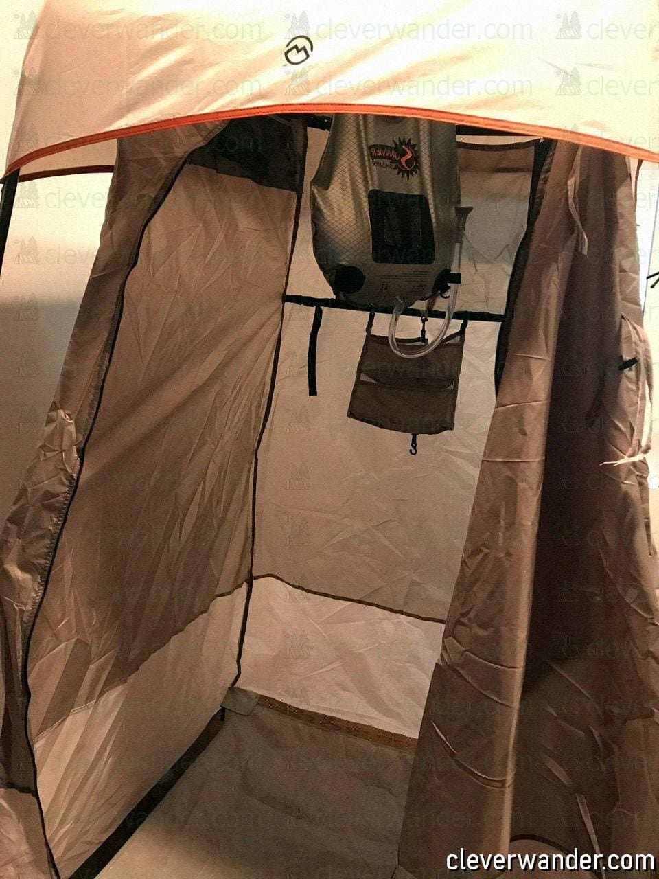 WolfWise Pop Up Privacy Shower Tent - image review 3