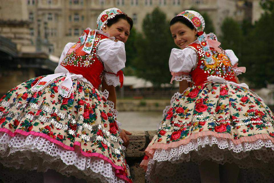 Hungarian folk costume