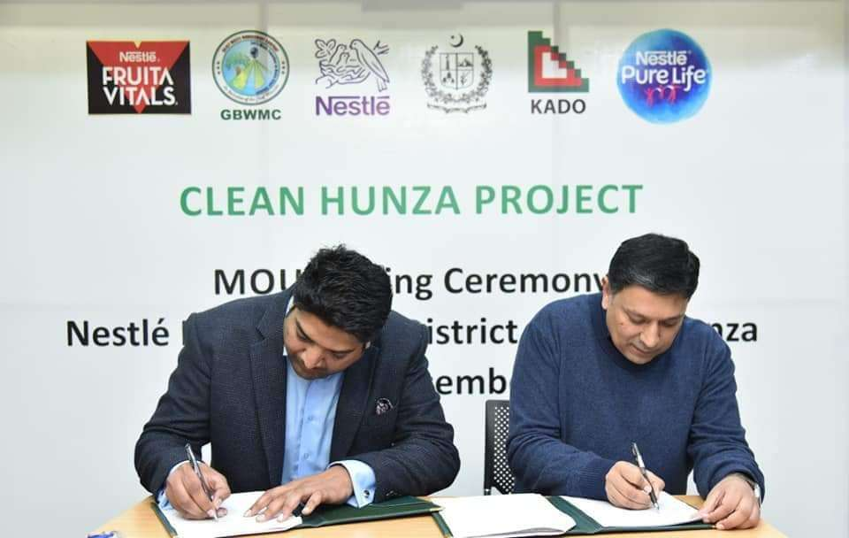 Nestlé Pakistan Clean Hunza Valley campaign