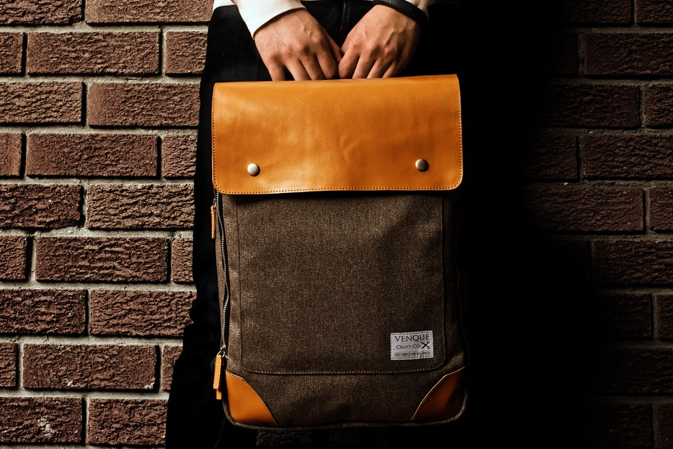 VENQUE 'Flatsquare' Backpack