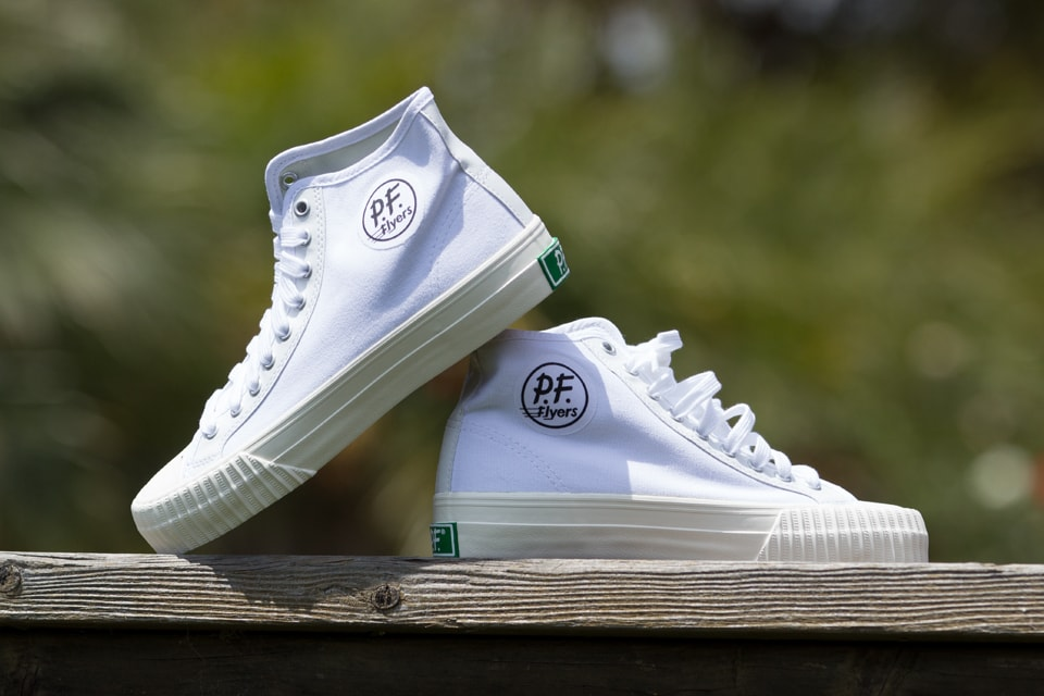 White PF Flyers
