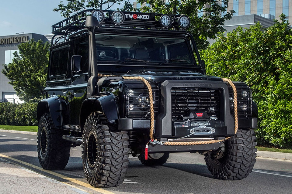 SPECTRE EDITION Land Rover Defender by Tweaked Automotive