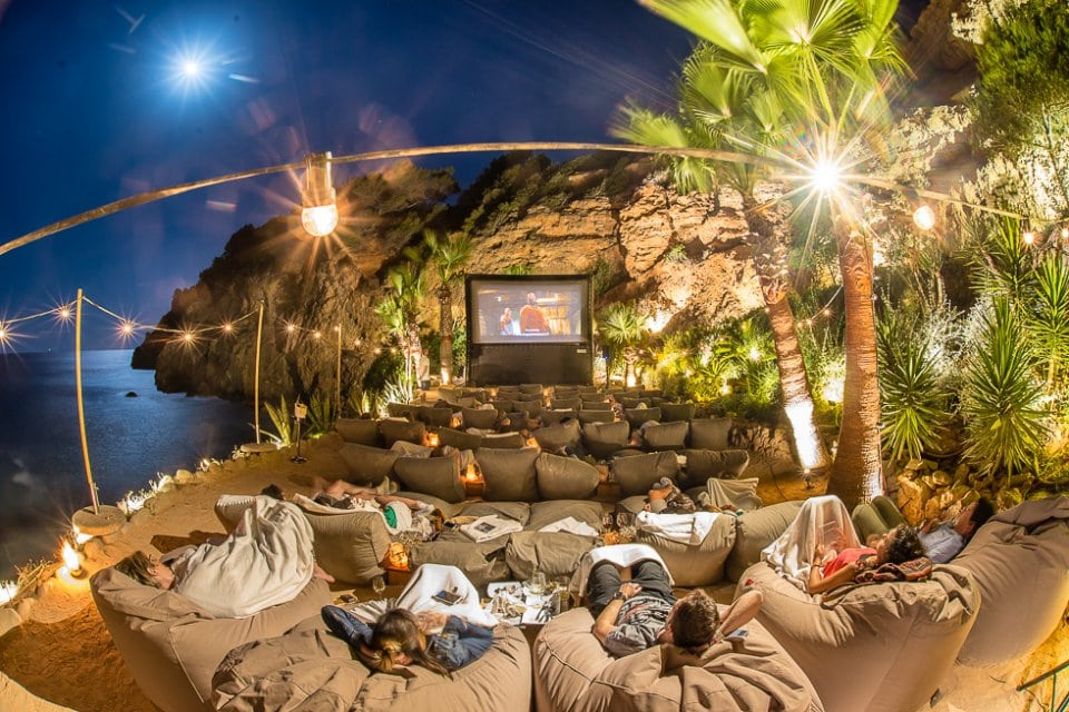 Open air cinema ibiza no NIE Number required