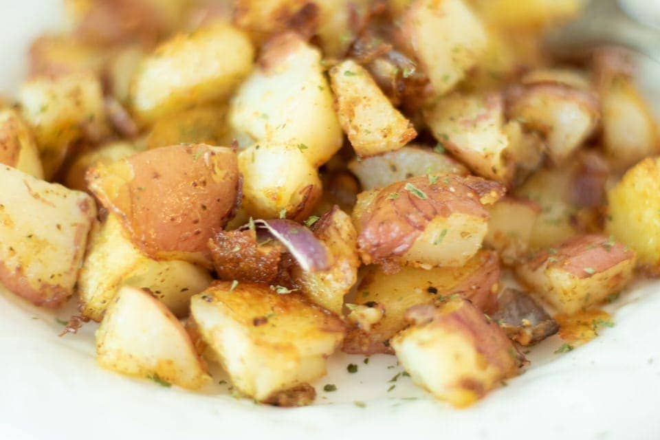 Crispy Roasted Old Bay Potatoes