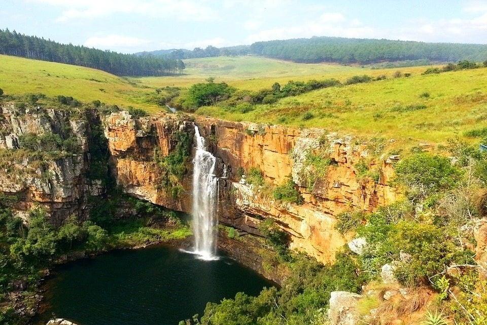 Berlin waterfall in Mpumalanga
