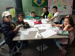 Alfabetização para crianças em Londres