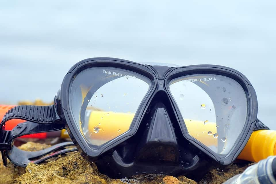 Can you use glasses when you need vision correction and Rx lenses for your scuba or snorkeling mask?