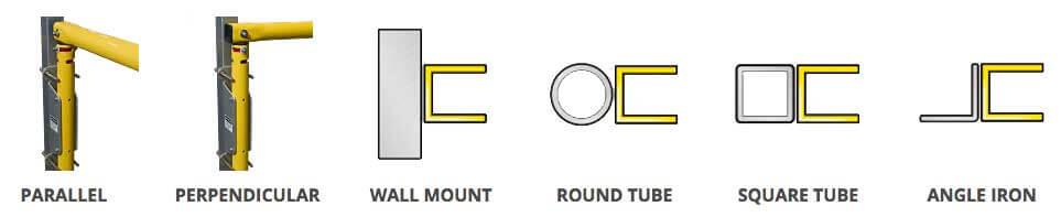 swing gate universal mount options