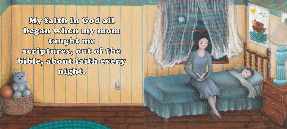 I have faith illustration