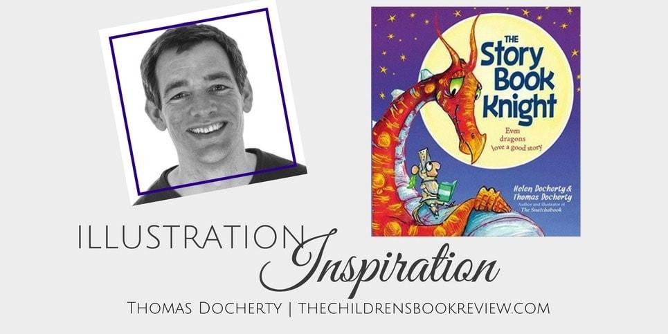 Illustration Inspiration_ Thomas Docherty, Illustrator of The Storybook Knight